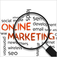 Online marketing campaigns in digital commerce