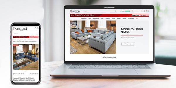 Quatropi Builds Website Using Magento